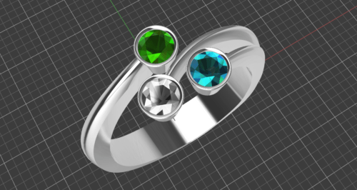Birthstone Ring